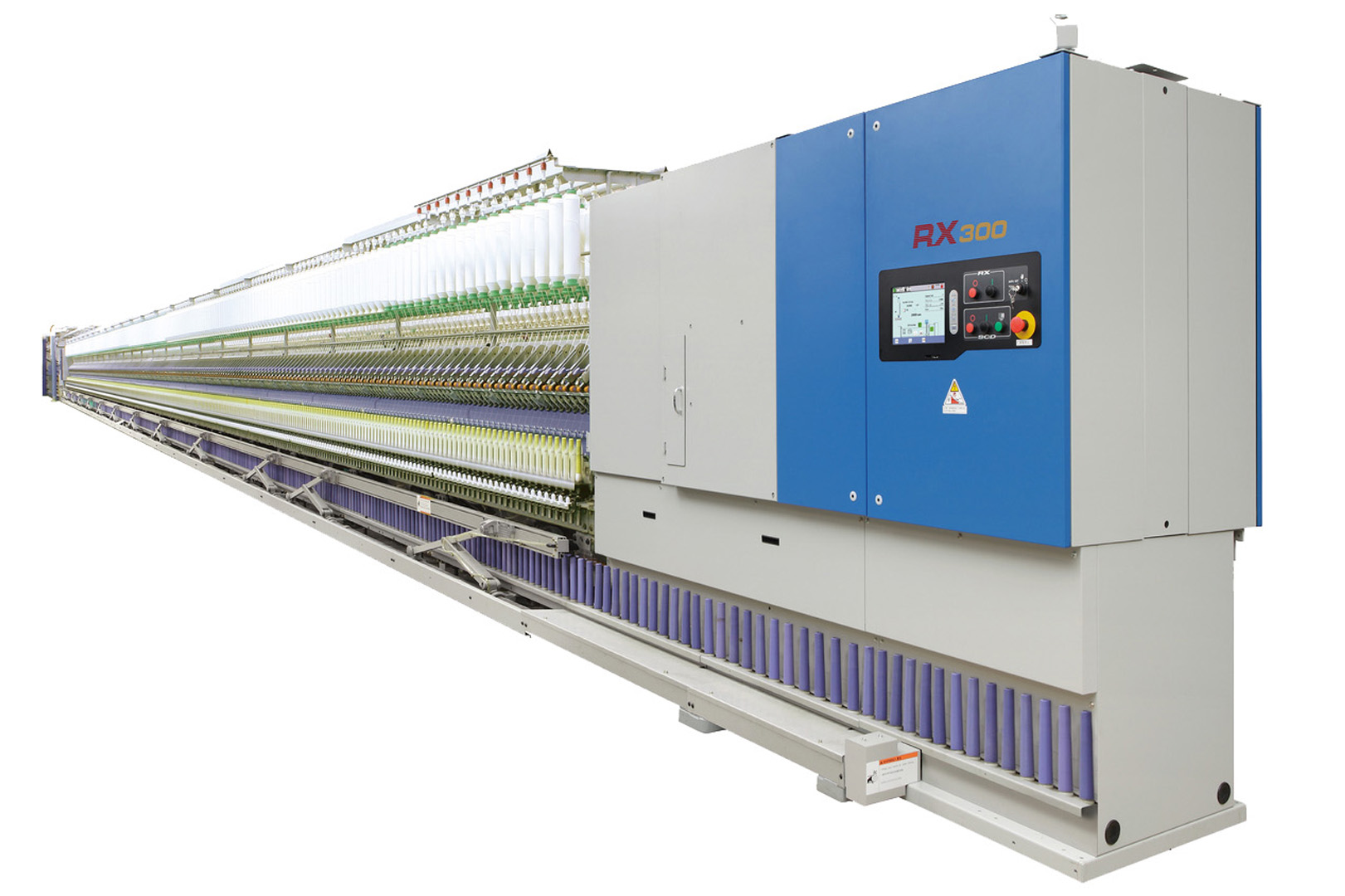 High-Speed Ring Spinning Frame / RX300 | |